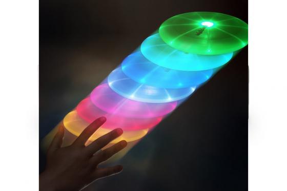 LED Frisbee   - automatischer Farbwechsel