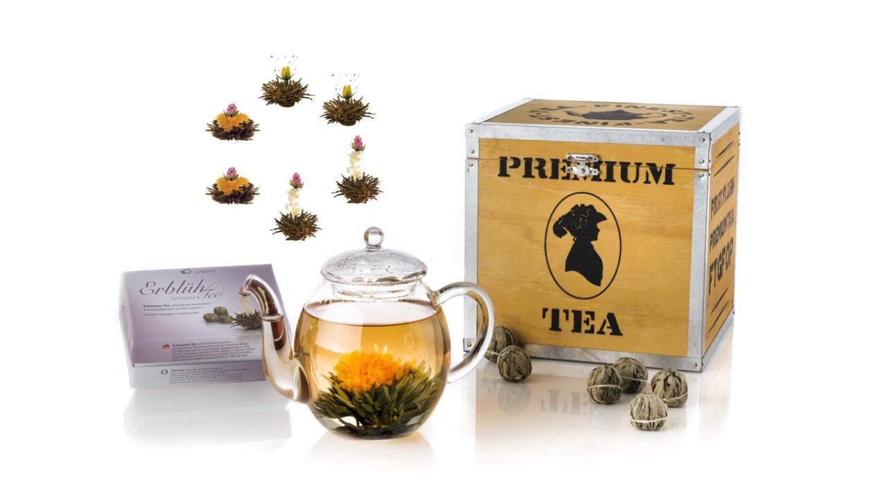 ... Coffret cadeau fleurs de thé - Thé noir ... a8417b839f9