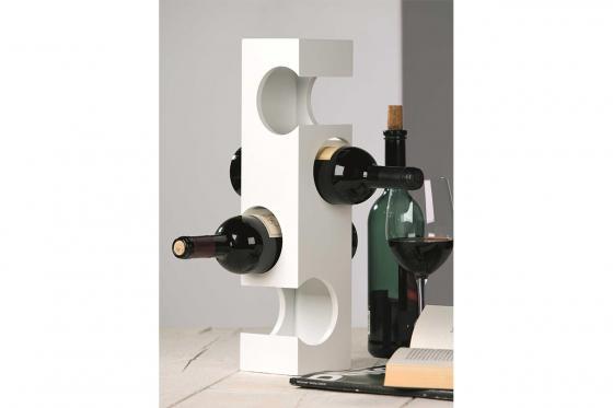 Porte-bouteilles  - Pour quatre bouteilles de vin