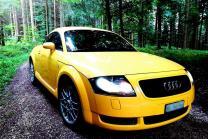 Audi TT mieten - 4-Stundenmiete für 4 Personen
