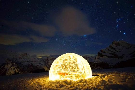 Bubble-Suite Nacht - mit Sternen Panorama für 2 9 [article_picture_small]