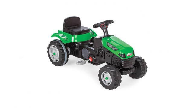 Tracteur à pédales - couleur vert, pour enfants
