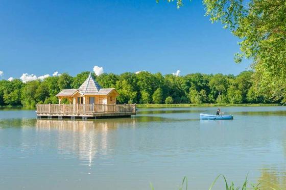 Séjour dans une cabane sur l'eau - pour 2 personnes, en demi-pension incluant la location de vélos  [article_picture_small]