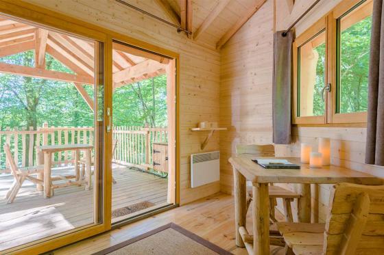 Séjour dans une cabane en duo - pour 2 personnes, en demi-pension incluant la location de vélos 2 [article_picture_small]