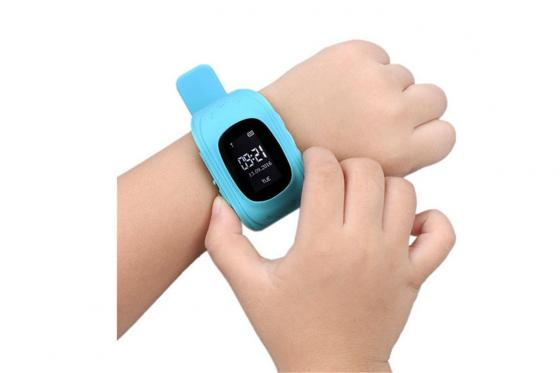 GPS Tracker bleu - pour enfant