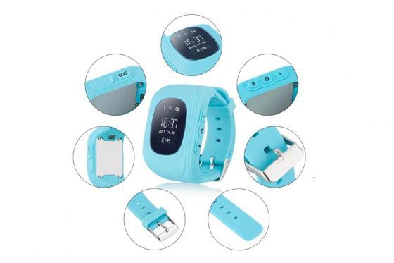 GPS Tracker blau - für Kinder 2