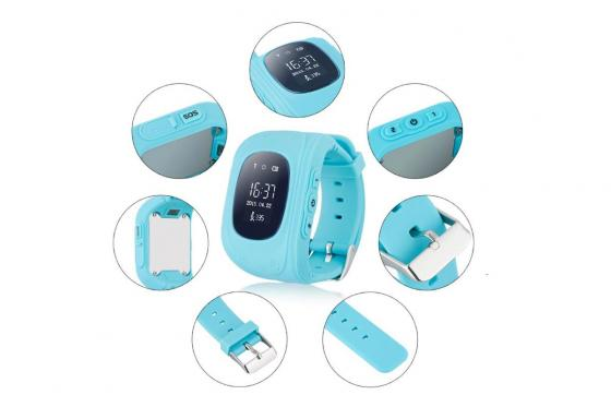 GPS Tracker bleu - pour enfant 2