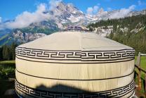 Jurte in imposanter Bergwelt - 1 Übernachtung für 2 Personen