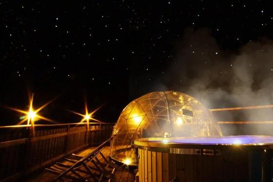 2 Nächte Bubble-Suite & Whirlpool - 2 Übernachtungen für 2 Personen  [article_picture_small]