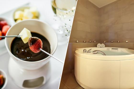 Day spa et fondue au chocolat - pour 2 personnes, avec champagne inclus  [article_picture_small]