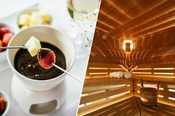 Wellness privé et fondue chocolat - pour 2 personnes, avec champagne inclus  [article_picture_small]