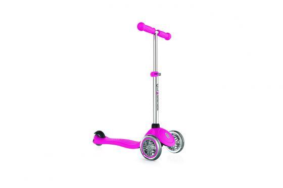 Trottinett Globber Primo   - rosa, mit LED-Räder