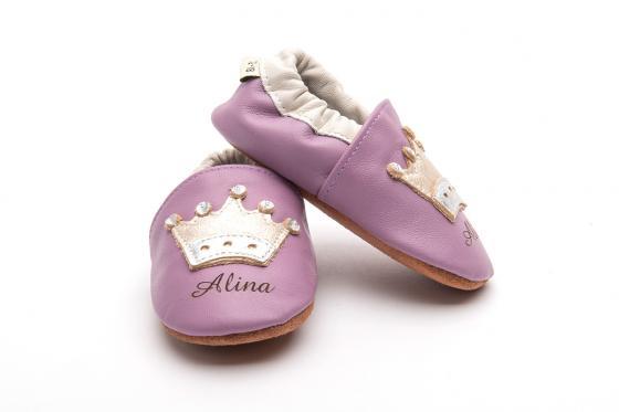 Chaussures bébé avec gravure - Princess, 12-18 mois
