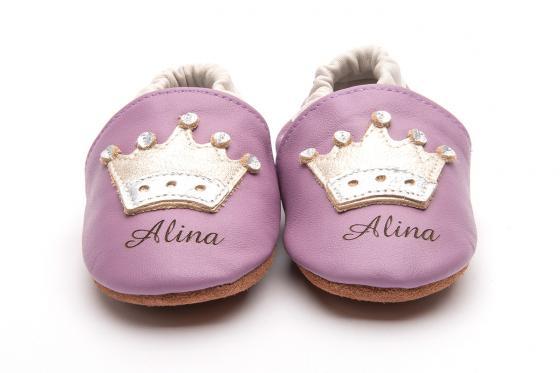 Chaussures bébé avec gravure - Princess, 12-18 mois 1