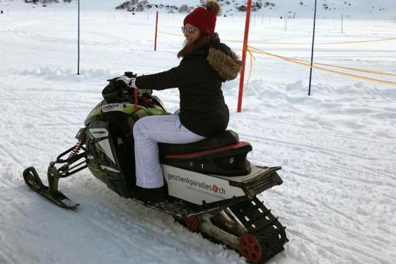 Motoneige & Fondue pour 2 - Action dans la neige à Engelberg 1 [article_picture_small]