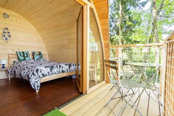 Nuit insolite dans une cabane - 1 nuit dans les arbres pour 2 personnes avec petit déjeuner  2 [article_picture_small]