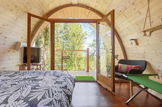 Nuit insolite dans une cabane - 1 nuit dans les arbres pour 2 personnes avec petit déjeuner  5 [article_picture_small]