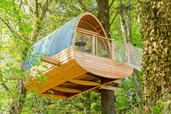 Nuit insolite dans une cabane - 1 nuit dans les arbres pour 2 personnes en demi-pension 4 [article_picture_small]