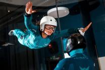 Indoor Bodyflying - 2 Flüge für 1 Person inkl. Video- und Fotoaufnahme