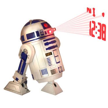 Réveil Star-Wars - R2-D2 avec projection