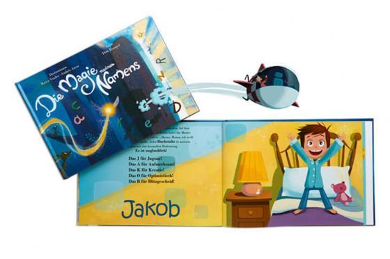 Personalisiertes Kinderbuch - Die Magie meines Namens 5