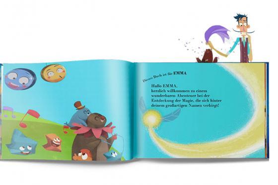 Personalisiertes Kinderbuch - Die Magie meines Namens 6