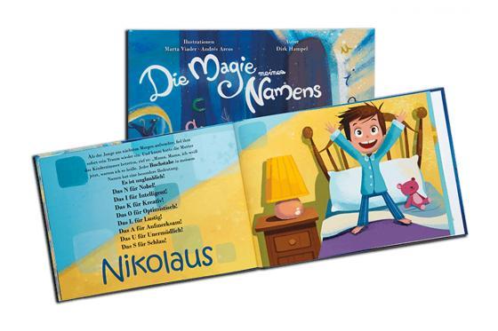 Personalisiertes Kinderbuch - Die Magie meines Namens 7