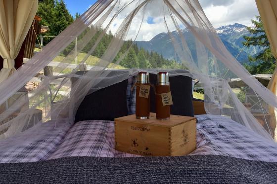Glamping in den Walliser Bergen - Naturlodge für 2 Personen inkl. Frühstück und traumhaftes Panorama 2 [article_picture_small]