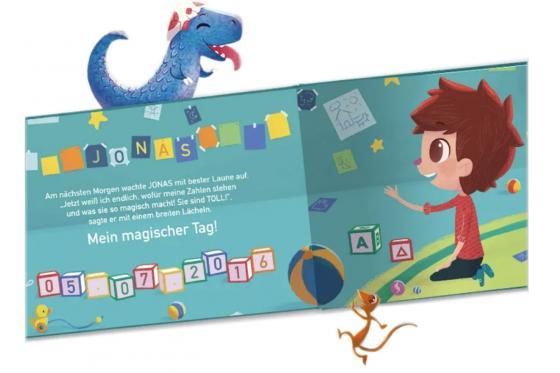 Personalisiertes Kinderbuch - Meine magischen Zahlen 2