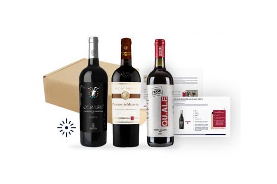 Abonnement de vin - 3 mois - 3 bouteilles sélectionnées par des spécialistes et livrées chez soi 1 [article_picture_small]
