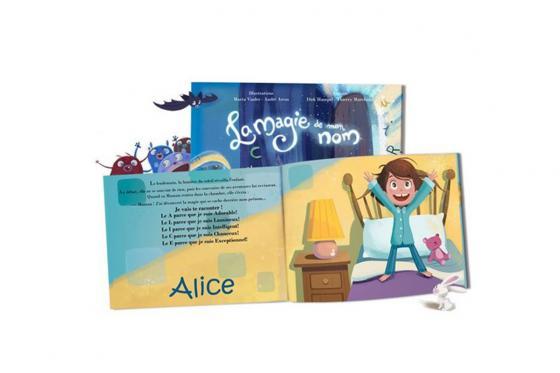 Livre personnalisé pour enfant  - La magie de mon nom 3