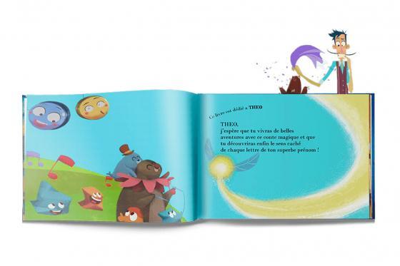 Livre personnalisé pour enfant  - La magie de mon nom 4