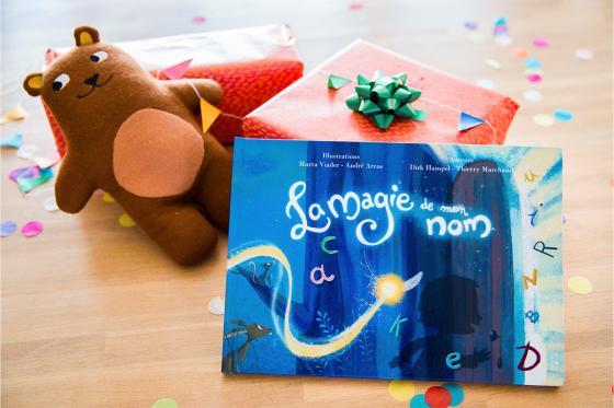 Livre personnalisé pour enfant  - La magie de mon nom 5