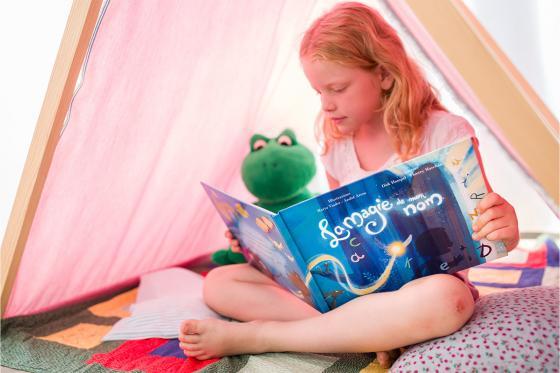 Livre personnalisé pour enfant  - La magie de mon nom 6