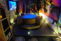 Spa privatif romantique - Moment de détente pour 2 personnes