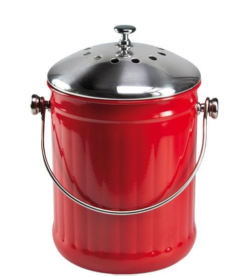 oxo good grips® komposteimer, 2,8 l - dunkelgrau in komposteimer ...