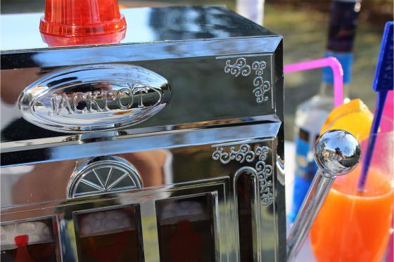 Distributeur de boissons - Machine Jackpot Slot  5