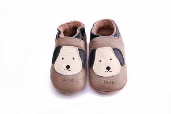Chaussures bébé avec gravure - Love my dog, 18 - 24 mois  1