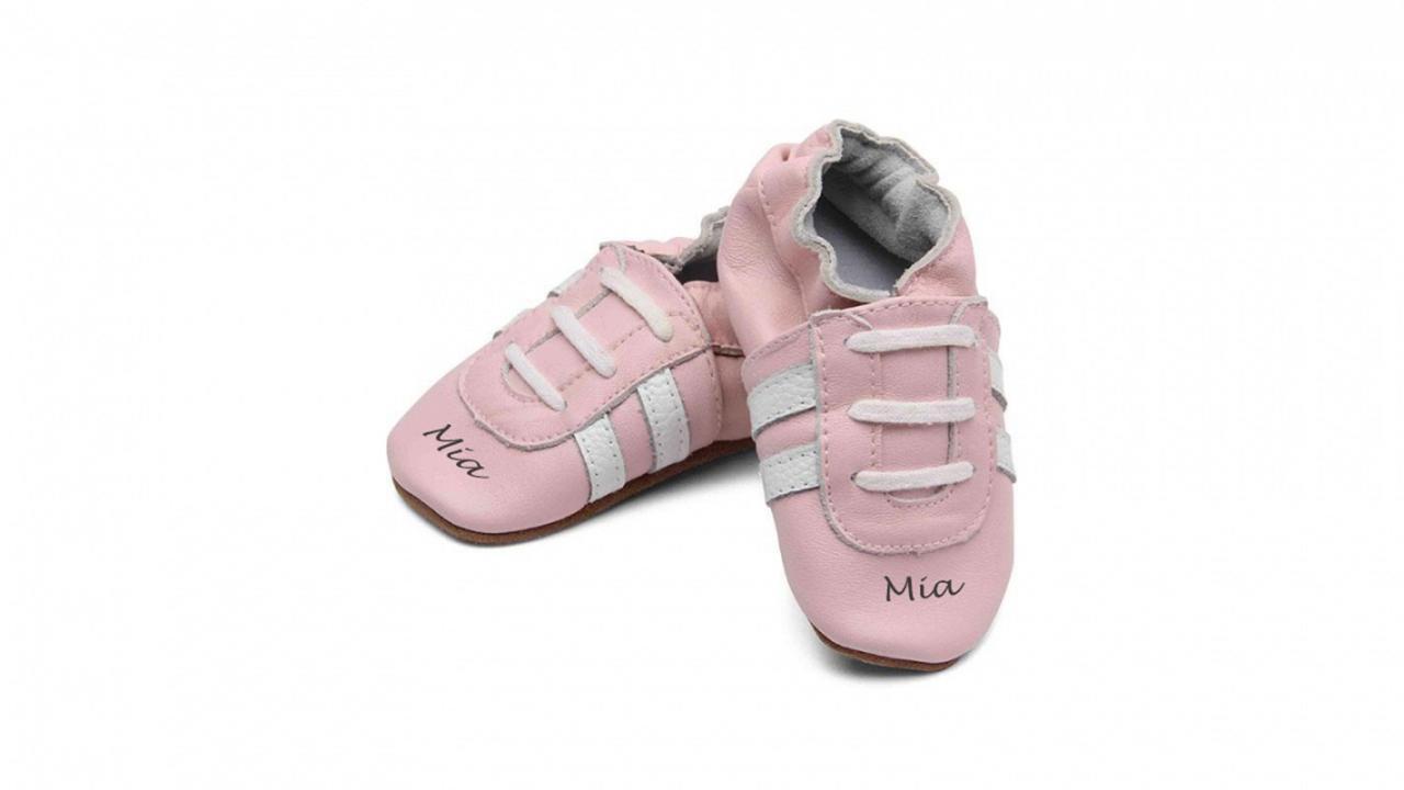 Chaussures Bébé GravureSneaker Pink18 ch Avec 24Youpikids SGqUzMVp