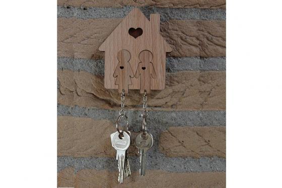Accroche clé - Pour couple
