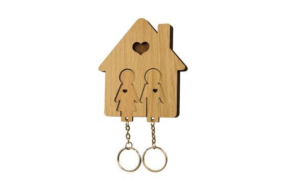 Accroche clé - Pour couple 1