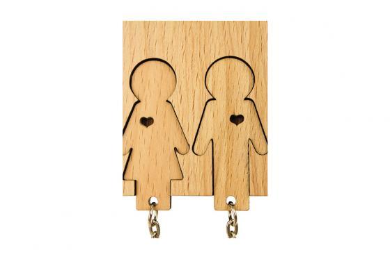 Accroche clé - Pour couple 3