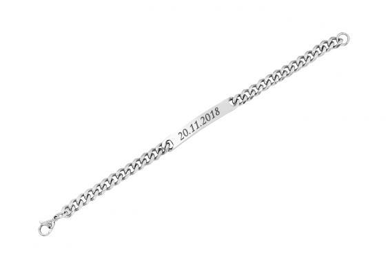 Edelstahl Armband - personalisierbar 2