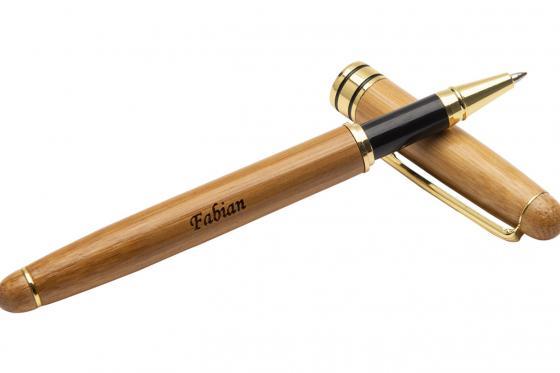 Holz-Kugelschreiber - personalisierbar 3