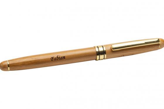 Holz-Kugelschreiber - personalisierbar 4