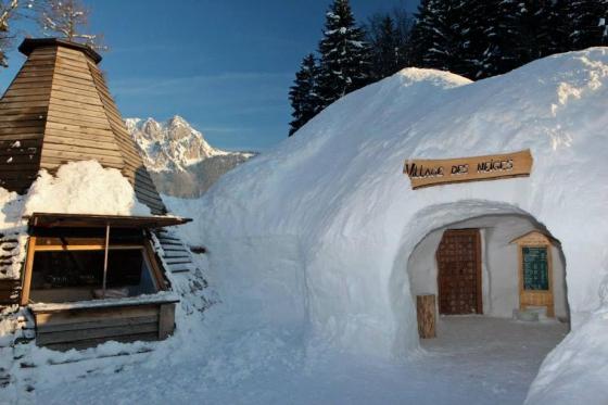 Menu Fondue dans un igloo -  Pour 2 personnes, à Leysin (VD) 3 [article_picture_small]