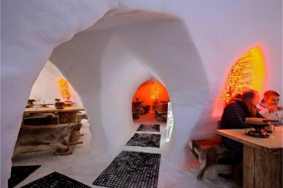Menu Fondue dans un igloo -  Pour 2 personnes, à Leysin (VD) 5 [article_picture_small]