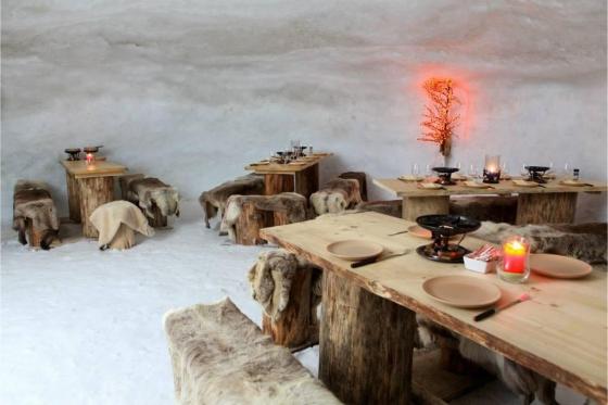 Menu Fondue dans un igloo -  Pour 2 personnes, à Leysin (VD) 6 [article_picture_small]