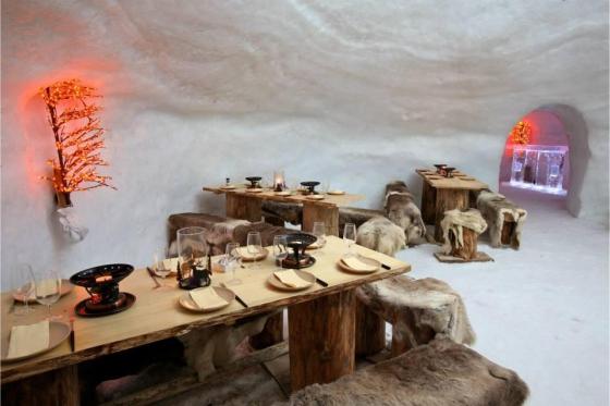 Menu Fondue dans un igloo -  Pour 2 personnes, à Leysin (VD) 7 [article_picture_small]