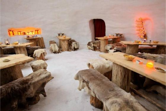Menu Fondue dans un igloo -  Pour 2 personnes, à Leysin (VD) 8 [article_picture_small]